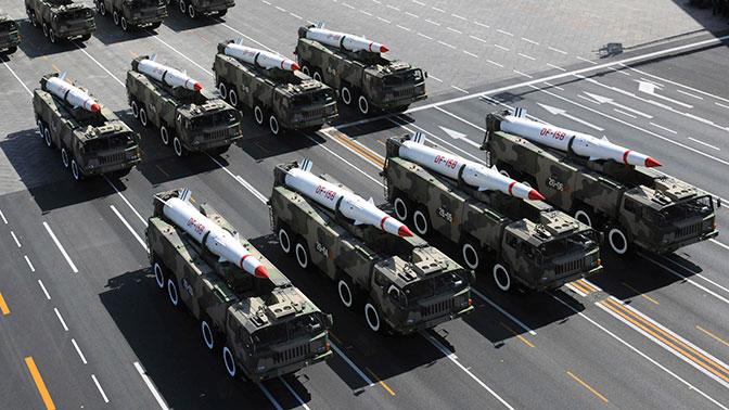 «Смертельное оружие»: в КНР поведали обаллистической ракете обновленного поколения