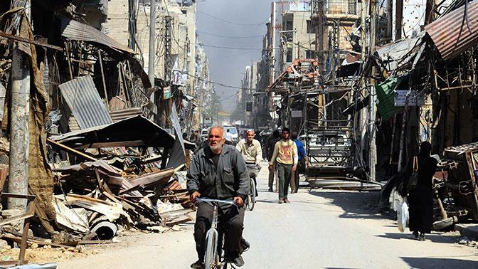 Вражда вСирии: повстанцы согласились оставить очередной район уДамаска