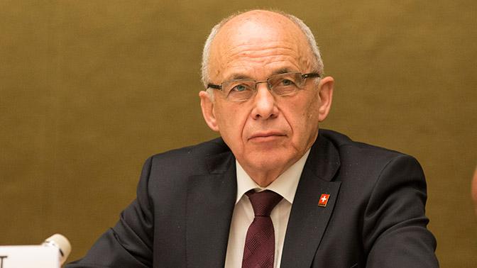 Руководитель министра финансов Швейцарии приедет наПМЭФ