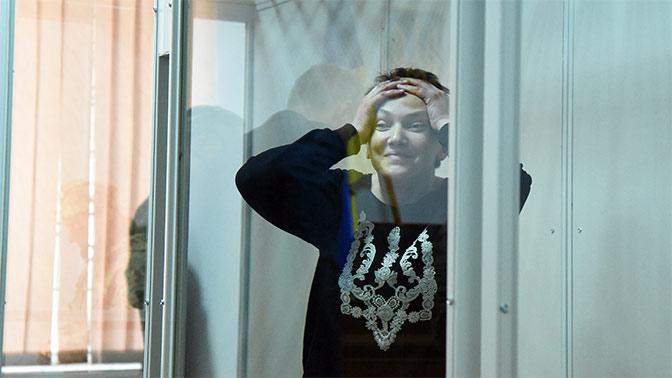 Вера Савченко устроила в центре Киева акцию в поддержку сестры