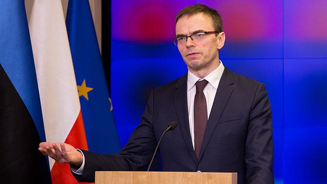 Руководитель МИД Эстонии объявил онамерении говорить сРоссией спозиции силы