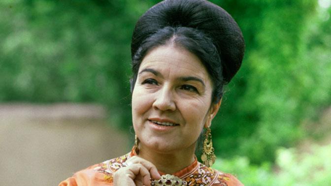 ВАшхабаде скончалась национальная исполнительница СССР Мая Кулиева