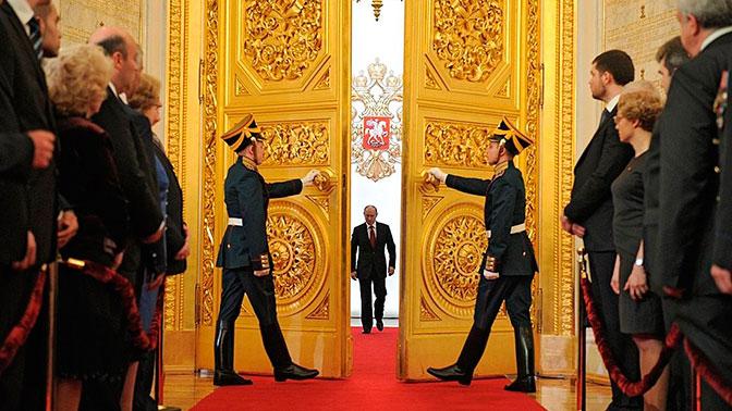 В Москве частично перекроют и ограничат движение на время инаугурации Путина