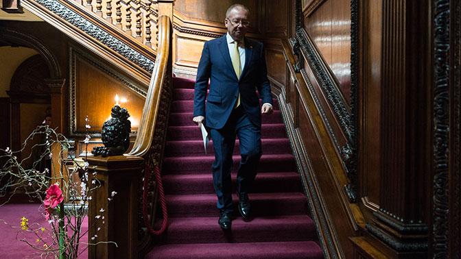 ПослаРФ встолице Англии пригласили увидеться с английскими парламентариями вДень Победы