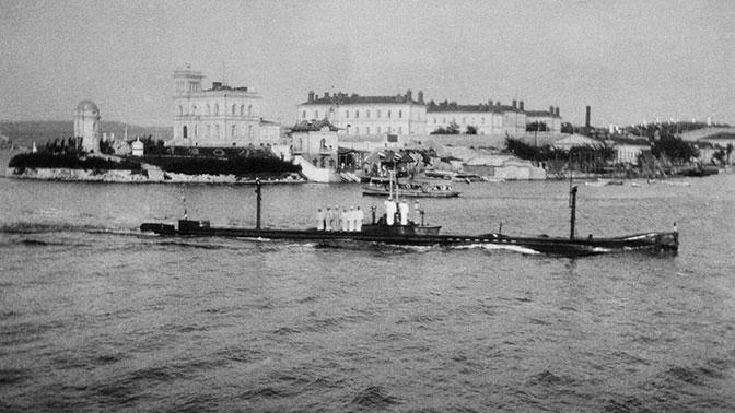 Уберегов Севастополя нашли затонувшую в1909 году подлодку «Камбала»