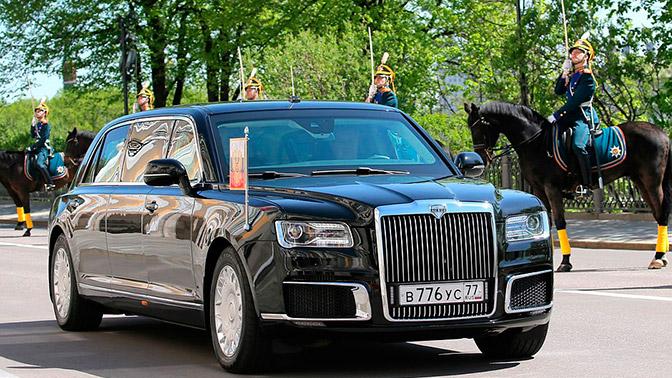 Первые «живые» фотографии роскошного салона лимузина Путина «Кортеж» появились всети