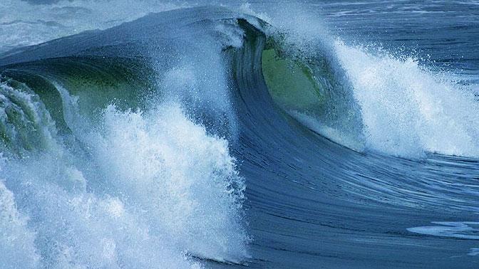 ВЮжном полушарии зарегистрирована самая высокая волна