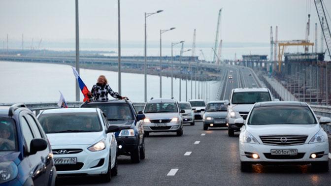Порошенко строит планы наКрымский мост
