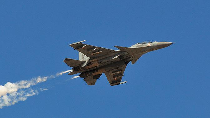 Су-30МКИ засек китайский самолет-невидимку