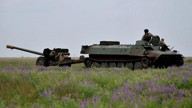 В ДНР обвинили Киев в доставке запрещенного вооружения в Донбасс