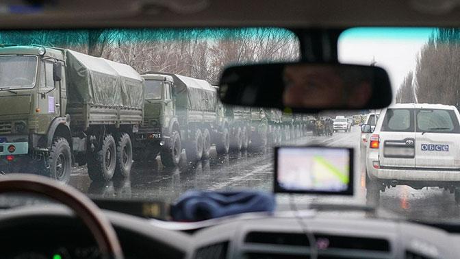 Взрыв прогремел рядом с патрулями ОБСЕ под Луганском