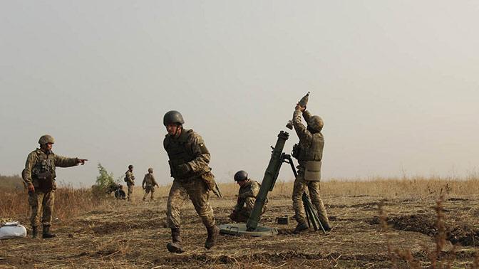 Бойцы ДНР разбомбили американскую станцию ANTPQ-48 в ходе боев под Горловкой