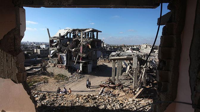 ВВС Израиля нанесли ракетный удар посектору Газа