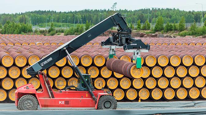 Стали известны сроки начала строительства «Северного потока - 2» в России