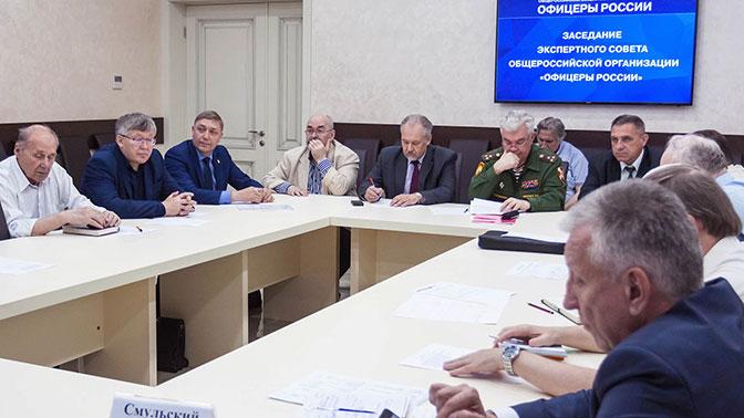 Офицеры России и московские суворовцы обсудили концепцию кадетского образования