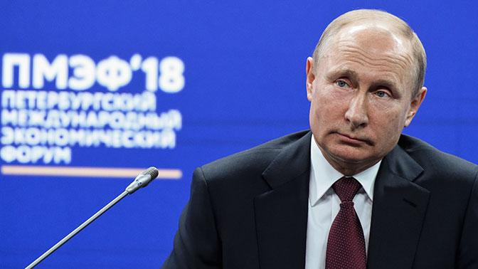 Путин предупредил о риске возникновения системного кризиса в мировой экономике
