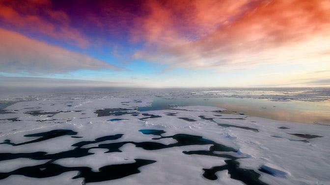 Найден керн антарктического льда, предположительно, сохранивший миллионы лет истории
