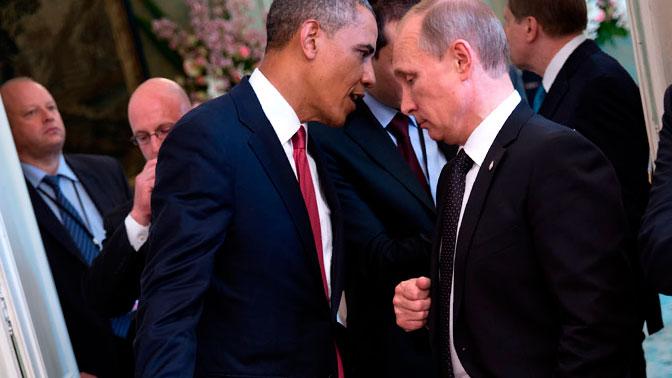 Обама просил В. Путина неотговаривать Януковича отсделки соппозицией