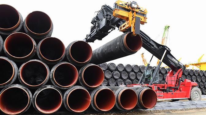 Швеция одобрила строительство газопровода «Северный поток— 2»