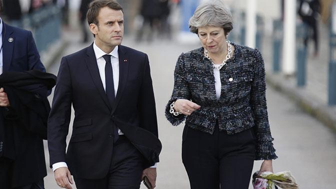 Макрон и Мэй назвали условие возвращения России в состав G8