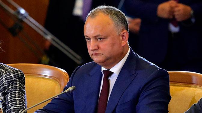 Додон: Молдавия не хочет дружить с Западом против России
