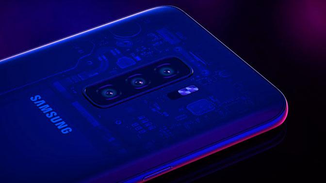 В Сети появились первые фото Samsung Galaxy S10