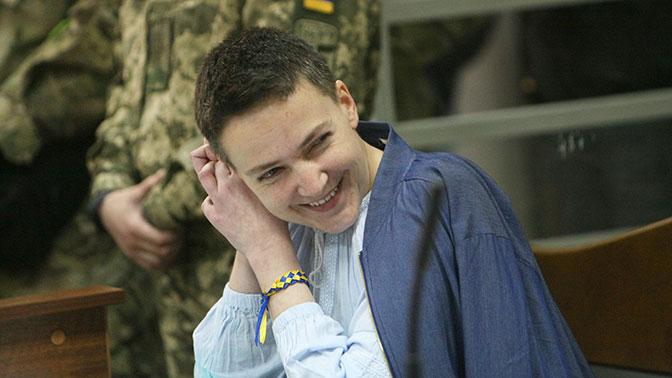 Савченко попросила Путина помиловать заключенных в России украинцев