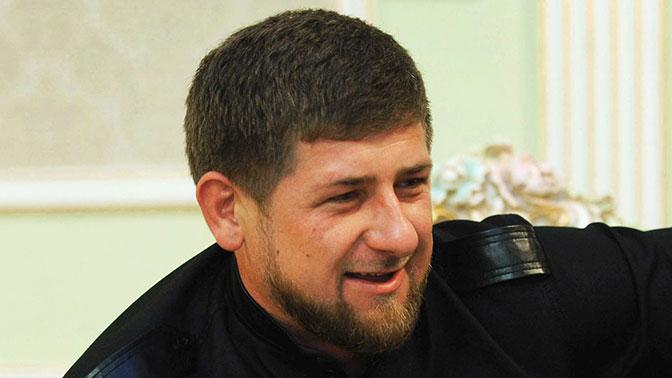 Кадыров на комбайне собрал урожай «ахмата»