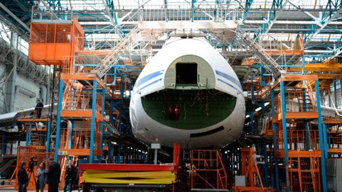 В России создадут новый сверхтяжелый транспортный самолет