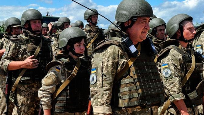 На Украине начали создание «полумиллионной армии»