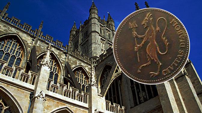 В древней церкви нашли таинственные «дьявольские монеты»