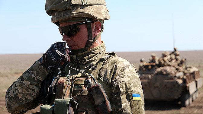 В ЛНР заявили о замаскированной технике ВСУ возле линии соприкосновения в Донбассе