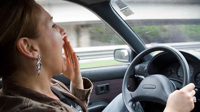 Ученые выяснили, как водителям не засыпать за рулем