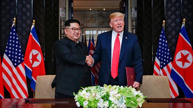Трамп опубликовал письмо Ким Чен Ына
