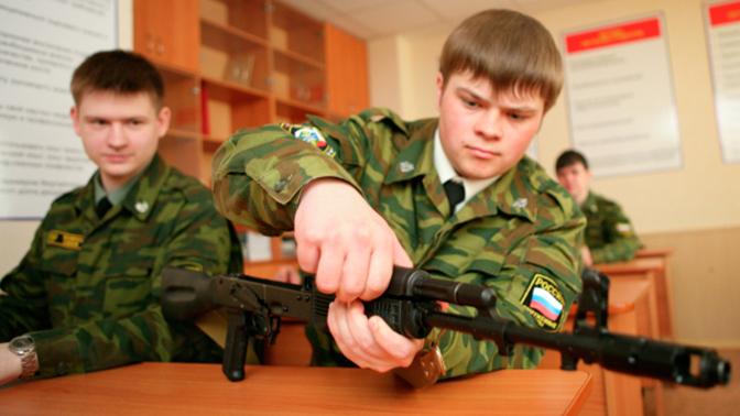 Госдума одобрила проект по замене военных кафедр в вузах