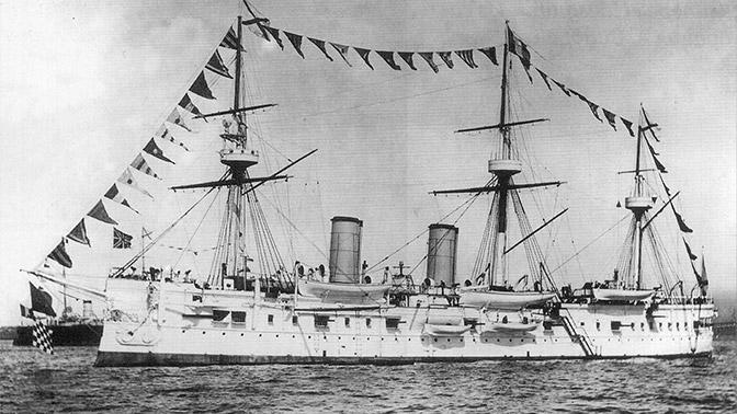 В Японском море нашли затонувший российский крейсер «Дмитрий Донской»