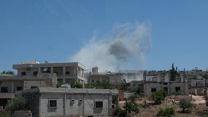 Российские средства ПВО в Сирии сбили беспилотник террористов