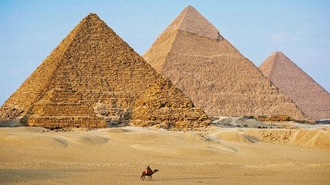 Ученые открыли необычное свойство египетских пирамид