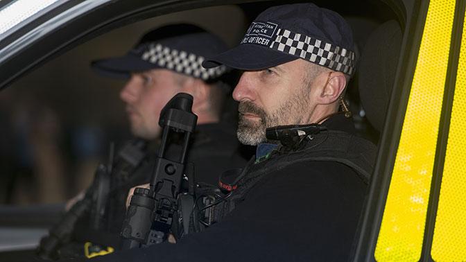 Полиция Лондона задержала подозреваемого в подготовке теракта