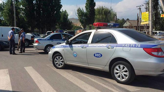 В Бишкеке произошел взрыв под машиной российского бизнесмена