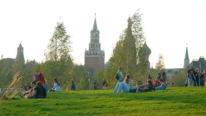 В Мосгордуме попросили воздержаться от секса в парке «Зарядье»