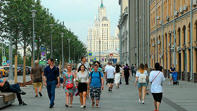 В Москве зафиксирован рекорд атмосферного давления