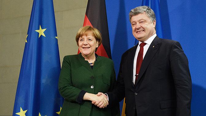 Порошенко обсудил с Меркель безопасность «Северного потока - 2»