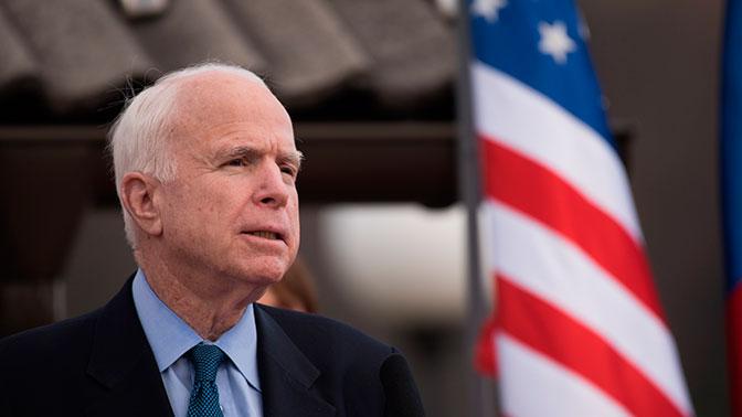 Сенатор Маккейн решил прекратить лечение от рака