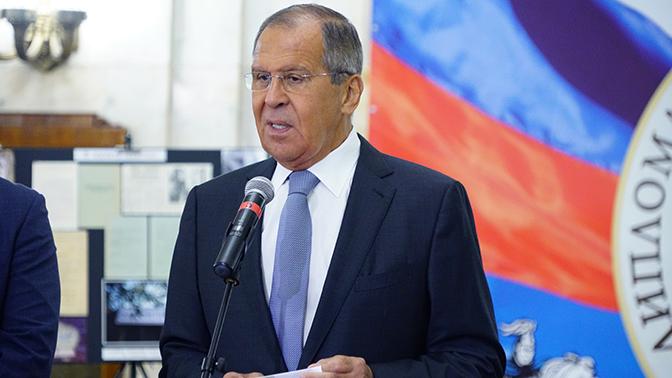 Лавров рассказал о неудачных попытках США сменить неугодный им режим в Сирии