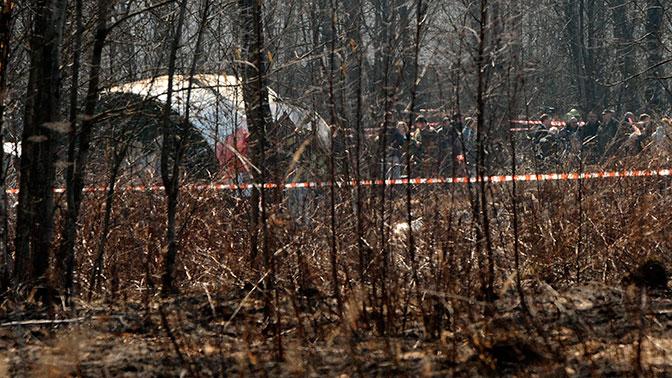 В СК ответили на обвинения в подмене черных ящиков самолета Качиньского