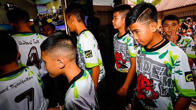 В Таиланде снимут фильм о пропавших в пещере школьниках