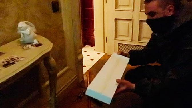 Опубликовано видео с места несостоявшегося покушения на Захарченко