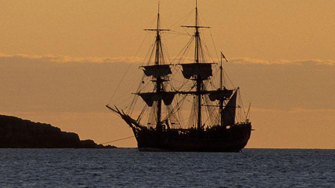 Корабль знаменитого капитана Кука обнаружили вдали от родных берегов