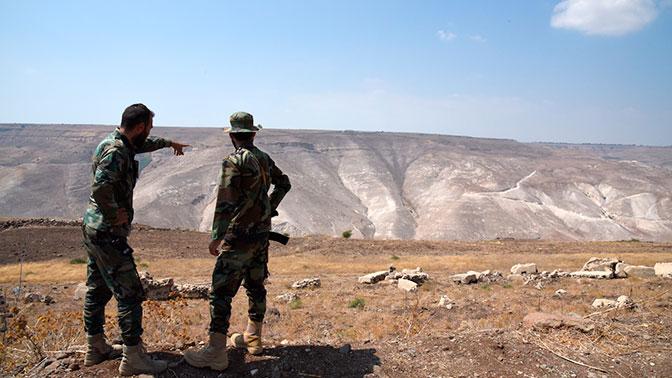 Российские военные провели патрулирование в Сирии рядом с Голанскими высотами